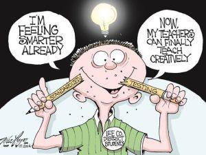 cartoon on standardized testing